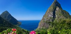 Ladera Resort in Soufrière, Quarter of Soufrière Pitons St Lucia, Ladera Resort, St Lucia Resorts, Places To Travel, Places To Visit, Caribbean Resort, Honeymoon Destinations, Honeymoon Places