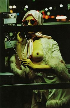Night Call - Photography by Helmut Newton