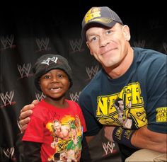 "When I see them (wish children) enjoying themselves like a normal family with no concerns other than just having a good time, I get a sense of ""This is why you do what you do."" It is incredibly uplifting."" - John Cena in ""Wish Granted"" Wish Granted, I Salute You, Make A Wish Foundation, John Cena, Wwe Wrestlers, The More You Know, Life Is Beautiful, Beautiful People, Positive Thoughts"