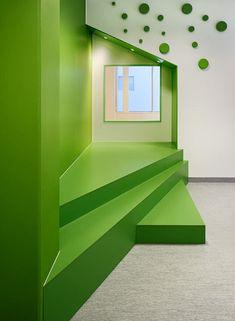 Sjötorget Kindergarten Rotstein Arkitekter Espacios Cool para Niños...Sjotorget Kindergarten
