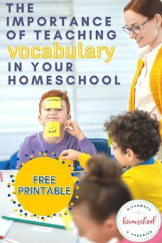 Teaching vocabulary is essential in homeschooling. We can make vocabulary a part of our everyday learning process, and it isn't that hard to do. I wanted to share with you some insight on the importance of teaching vocabulary in your homeschool and how to make it easy for your kids to learn new words. #vocabulary #hsgiveaways Vocabulary Definition, New Vocabulary Words, Teaching Vocabulary, Vocabulary Building, Vocabulary Activities, Learning Process, Kids Learning, Personal Dictionary, Teaching Latin