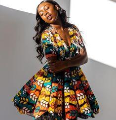 Ankara circle dress made by Dressmakerbyolivia #dressmaker #ankarafashion #ankarastyle #madeinchicago #Chicagodesigner #chicagodressmaker Circle Dress, Dressmaker, Ankara Styles, Dress Making, How To Make, How To Wear, Women Wear, Clothes, Dresses