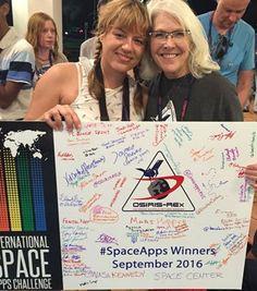 Space Apps 2016 Winners Attend OSIRIS-REx Launch