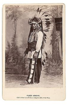 Flies Above - Oglala - 1885