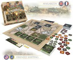 Heroes of Normandie, el juego táctico de cartas