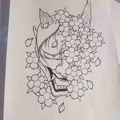 【lewismcpherson1】さんのInstagramをピンしています。 《Available big piece little price :) #tattoo #tattoos #tattoodesign #tattooflash #flash #cherryblossoms #japanese #japanesetattoo #lines #linework #lineworktattoo #flower #flowertattoo #floral #floraltattoo #horns #evil #hannya #hannyatattoo #hannyamask #mask #demon #oni》