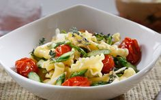 Looking for an authentic Italian recipe? Try Barilla's step-by-step recipe for Barilla® Campanelle with Asparagus, Caramelized Grape Tomatoes & Parmigiano Cheese for a delicious meal! Barilla Recipes, Yummy Pasta Recipes, Dinner Recipes Easy Quick, Entree Recipes, Veggie Recipes, Vegetarian Recipes, Yummy Food, Roasted Grape Tomatoes, Cherry Tomatoes