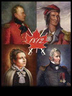 """The War of 1812 was a military conflict between the United States and the British Empire and their Indian allies. The US was unable to take over """"Canada"""". Canadian History, European History, American History, Canadian Army, American Revolutionary War, American Civil War, Study History, World History, Historia Universal"""