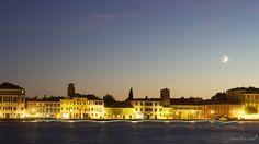 Venice under the moon