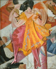 Gino Severini - Danseuse articulée, 1915
