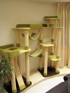 """Купить Комплекс для кошек """"Высота"""" (подходит крупным кошкам) - для кошек, мебель для кошек, домик для кошки"""