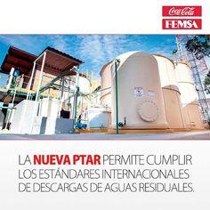 En #CocaColaFEMSA Venezuela inauguramos en Caracas la nueva Planta de Tratamiento de Aguas Residuales (PTAR), en la cual se invirtieron 10 millones de bolívares (USD $1.5 millones) y procesará 15,000 litros de agua diariamente.