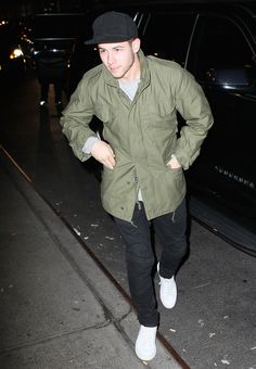 b89b7f744bfe Nick Jonas in a Bar-Friendly Outfit Every Man Should Own