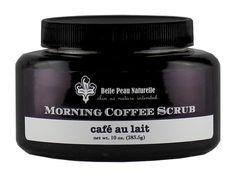 Morning Coffee Detox Body Scrub, net wt. 10oz. (283.5g)