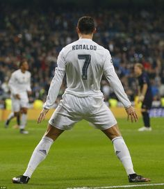 Ronaldo was able to bring out his trademark celebration a number of times as he found the net three times in nine second-half minutes