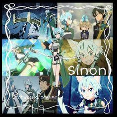Character: Sinon  Anime: Sword Art Online  Tags [ #swordartonline #alfheimonline #gungaleonline #asadasan #anime #kawaii #kirigayakazuto #kirito #asuna #leafachan #sugu #lizbeth #silica #sinon #klein #yuichan ]