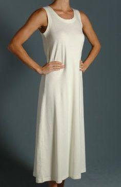 11a04f32b5 P-Jamas Ankle Length Sleeveless Butterknits Nightgown 365660 - P-Jamas  Sleepwear