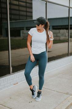 Lululemon + Nike outfit #workoutoutfits