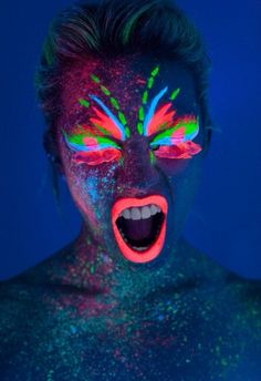 Glow in the Dark Body Paint ...XoXo