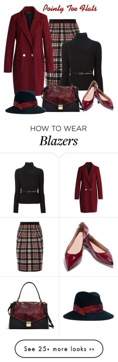 """""""Pointy Toe Flats"""" by lorrainekeenan on Polyvore featuring Alexander McQueen, Dsquared2, Chicwish and Eugenia Kim"""