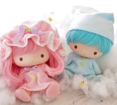 Little Twin Stars Soft Vinyl Doll Set kikilala Very rare Sanrio Japan F/S Sanrio Wallpaper, Wallpaper Iphone Disney, Little Twin Stars, Hello Kitty My Melody, Kawaii Room, Vinyl Dolls, Anime Dolls, Sanrio Characters, Cute Toys