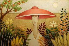 Danny McBride Danny Mcbride, Art Beat, Abstract Painters, Woman Painting, Painting Art, Paintings, Naive Art, Unique Lighting, Surreal Art