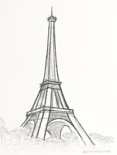 Easy-and-Beautiful-Eiffelturm Zeichnung und Skizzen Easy-and-Bea . - Easy-and-Beautiful-Eiffelturm Zeichnung und Skizzen Easy-and-Bea …, # - Easy Pencil Drawings, Art Drawings Sketches Simple, Beautiful Drawings, Cute Drawings, Drawing Ideas, Quick Easy Drawings, Drawing Tips, Hipster Drawings, Beautiful Pictures