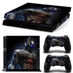 Love this!  http://www.hellodefiance.com/products/batman-skin-ps4-sticker-protector?utm_campaign=social_autopilot&utm_source=pin&utm_medium=pin