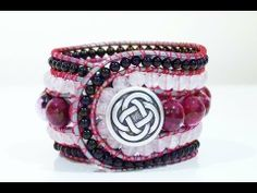 5 row wrap around bracelet - YouTube. Very well presented instructional video on how to create this bracelet.