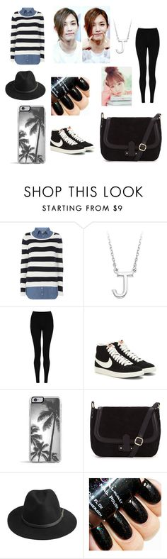 """Angel Jeonghan..."" by singerforlyfe ❤ liked on Polyvore featuring Dorothy Perkins, M&S Collection, NIKE, Zero Gravity, BeckSöndergaard, women's clothing, women's fashion, women, female and woman"