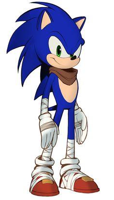 Sonic the Hedgehog - Characters & Art - Sonic Boom