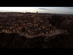 Il fascino dei Sassi di Matera - Travel With Drone-Amazing Aerial Videos-Drone Travel