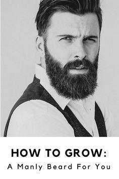 Grow an Awesome Beard Today!