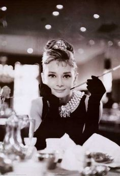 Audrey Hepburn Breakfast at Tiffany's Poster 24x36