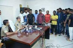 10 Nigerian nationals from India on charges of fake fund transfer.