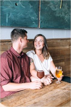 Commonwealth Brewing Company - Brewery Engagement Photography, Virginia Beach, Virginia engagement photography, Jessica Ryan Photography https://www.jessicaryanphoto.com/commonwealth-brewing-company-engagement-photography/