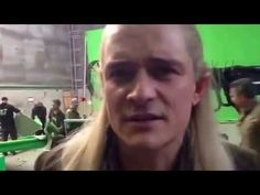 "Orlando Bloom ""They're taking the Hobbits to Isengard"" Live - YouTube - For the tiny, tiny amount of you who still aren't convinced that Orlando Bloom is amazing."