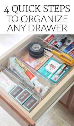 The junk drawer doesnt have to be junky. Folow these simple tips to have a organized junk drawer that holds your most imporatant things.