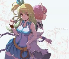 Anime + Manga : Fairy Tail Characters Shown : Lucy Heartfillia and Virgo Fairy Tail Lucy, Fairy Tail Ships, Image Fairy Tail, Fairy Tail Images, Fairy Tail Pictures, Fairy Tail Girls, Fairy Tail Nalu, Anime Fairy, Fairy Tail Characters