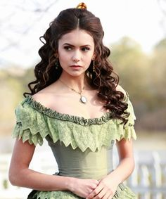 Nina Dobrev-Katherine Pierce Curls are Perfect!
