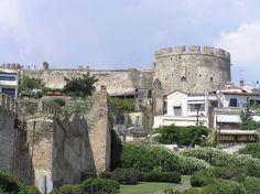 Κάστρα - Επταπύργιο Thessaloniki, Macedonia, Daydream, Mansions, House Styles, City, Places, Pictures, Beautiful