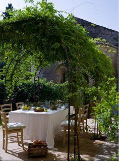 Al fresco in Provence