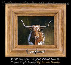Wildlife Paintings  Western Painting  Original by SwiftwingsStudio