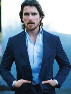 Christian Bale, my crush for him got 10 times bigger when he visited the victims in Colorado from the shooting at the premiere of The Dark Knight Rises. <3