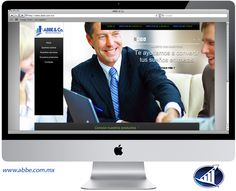 Diseño de página web para ABBE & Co. Saltillo, Coahuila.   www.abbe.com.mx