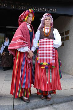 Lithuania ~ The country is filled with talented and colorful weavers.