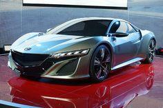 2012 Geneva Motor Show - Honda NSX Concept