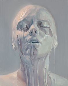 It's Not Milk Paintings by Ivan Alifan