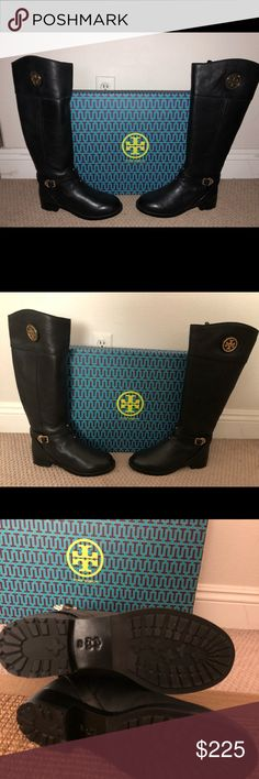 584613cba234 Tory Burch Chelsea riding boots WOMENS size 9 Never been worn New with  original box Purchased