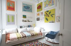 Home decor and design pic | Child's room in small space